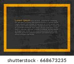 abstract background  cement and ... | Shutterstock .eps vector #668673235