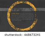 abstract background  cement and ... | Shutterstock .eps vector #668673241