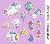 set of elements for your design....   Shutterstock .eps vector #668752534