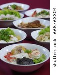 thai food | Shutterstock . vector #668763304