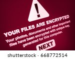 Ransomware   Close Up Of Your...