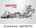 Skates Of Particles. Skates...