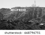 hollywood california   december ... | Shutterstock . vector #668796751