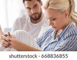 people  relationship... | Shutterstock . vector #668836855
