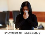 people  grief and mourning...   Shutterstock . vector #668836879