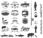 Fishing Club With Design...