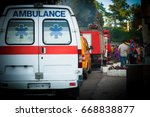 Ambulance  Fire Truck And Othe...