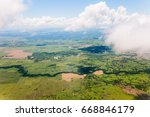 photograph of earth viewed from ...   Shutterstock . vector #668846179