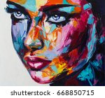 a no one in particular portrait ...   Shutterstock . vector #668850715