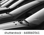 car parking lot  | Shutterstock . vector #668860561