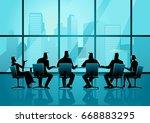 business illustration of... | Shutterstock .eps vector #668883295