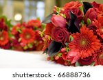 gorgeous wedding photo | Shutterstock . vector #66888736