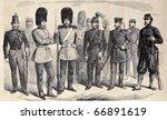 old illustration of british... | Shutterstock . vector #66891619
