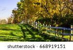 abstract of equine fence and... | Shutterstock . vector #668919151