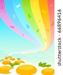 beautiful background from... | Shutterstock .eps vector #66896416