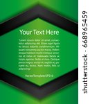 template green  black and white ...   Shutterstock .eps vector #668965459