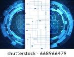 2d illustration safety concept  ... | Shutterstock . vector #668966479