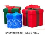 christmas packages ready for... | Shutterstock . vector #66897817