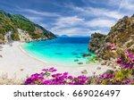 Agiofili Beach On The Ionian...