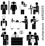 set of vector icons for... | Shutterstock .eps vector #66903055