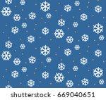 snowflack seamless background