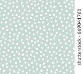 seamless light blue and white... | Shutterstock . vector #669041761
