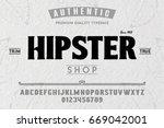 font.alphabet.script.typeface... | Shutterstock .eps vector #669042001