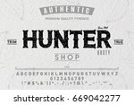 font.alphabet.script.typeface... | Shutterstock .eps vector #669042277