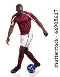 soccer player   Shutterstock . vector #66905617