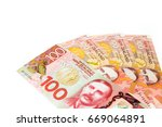 new zealand currency  many of... | Shutterstock . vector #669064891
