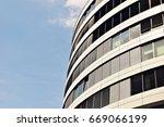 modern building.modern office... | Shutterstock . vector #669066199