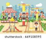 stock vector illustration of... | Shutterstock .eps vector #669108595