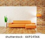 modern interior room with nice... | Shutterstock . vector #66914566