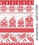 scandinavian and norwegian...   Shutterstock .eps vector #669167089