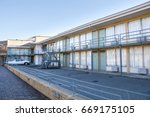 lorraine motel   national civil ... | Shutterstock . vector #669175105