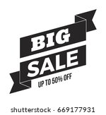 vector sale banner template | Shutterstock .eps vector #669177931