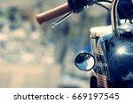 Harley Davidson Motorbike Clos...