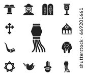 set of 12 editable religion...