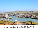 View Across Newhaven Harbour...