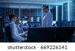 team of technical moderators... | Shutterstock . vector #669226141
