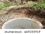 well for water extraction. the... | Shutterstock . vector #669255919