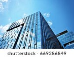 modern building.modern office... | Shutterstock . vector #669286849