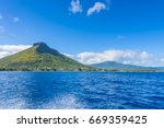 mauritius island   tamarin... | Shutterstock . vector #669359425
