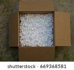 Cardboard Box With Packing Foa...