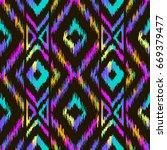embroidery vector design.... | Shutterstock .eps vector #669379477