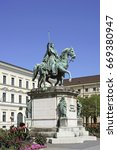 monument to king ludwig i ... | Shutterstock . vector #669380947
