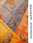 banknotes of malaysia of... | Shutterstock . vector #669391939