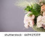a fragment of a beautiful... | Shutterstock . vector #669419359