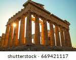 Acropolis And Parthenon Of...