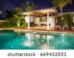 interior and exterior design  ... | Shutterstock . vector #669432031